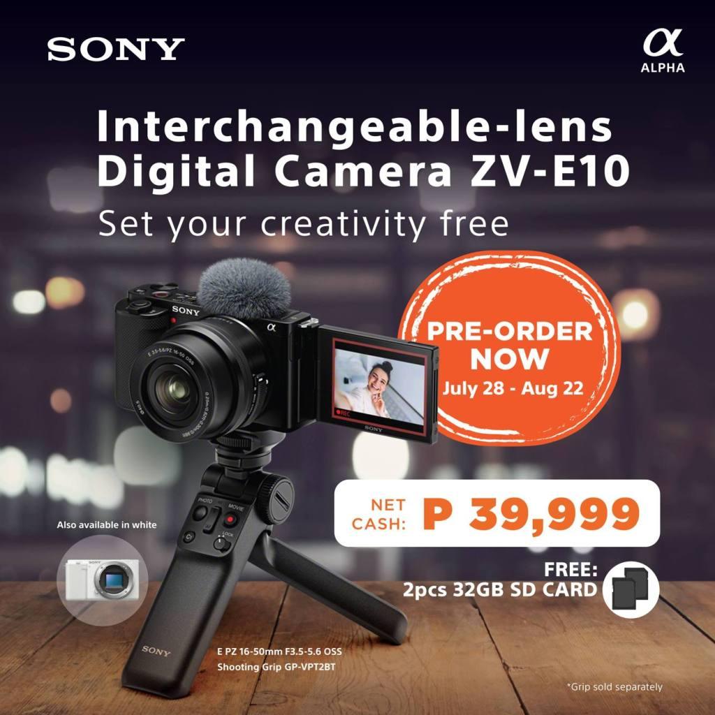 Sony ZV-E10 Pre Order
