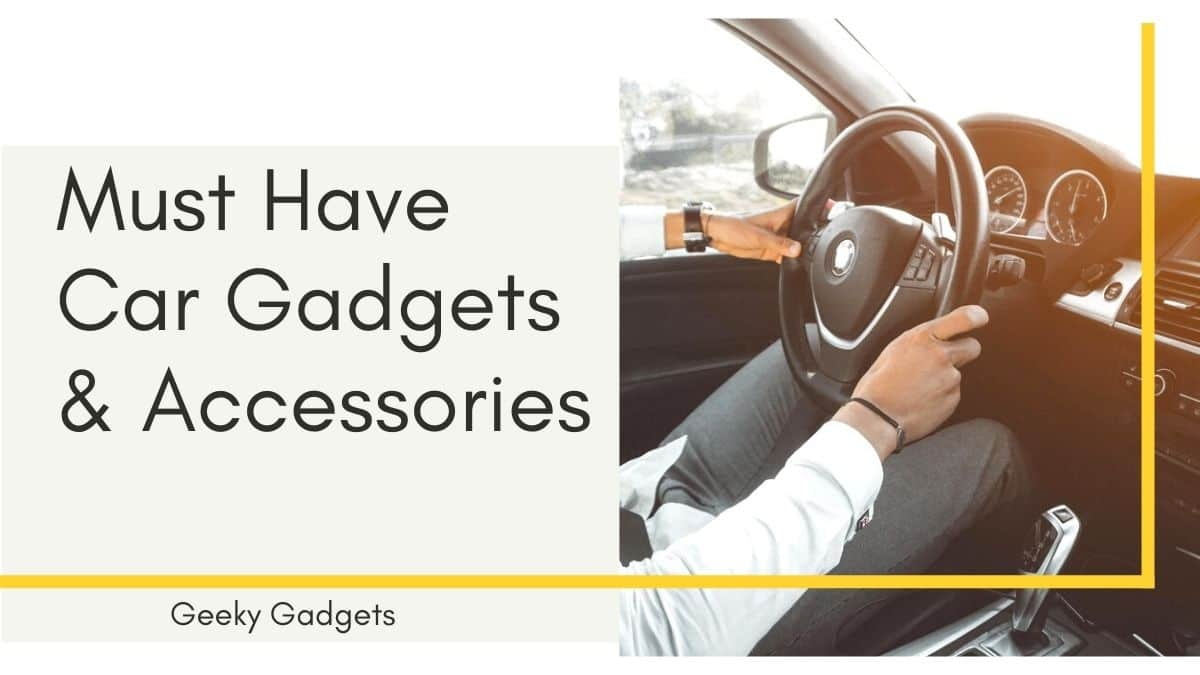 Must Have Car Gadgets and Accessories in India