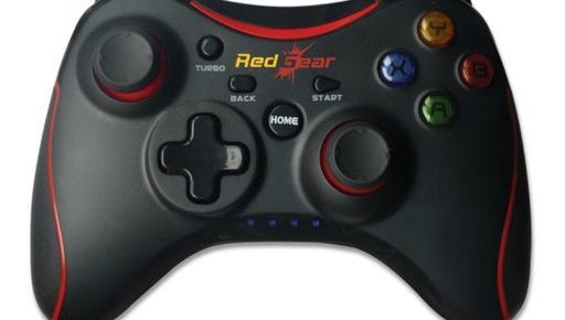 Redgear pro Series Wireless Gamepads With Built in rechargeable battery and Plug and Play support for all PC games supports Windows, read gear, wireless gamepads