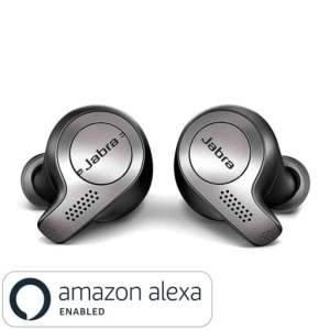 9b2f47a793c Jabra Elite 65t True Wireless Bluetooth Earbuds with Charging Case and one  Touch Amazon Alexa (