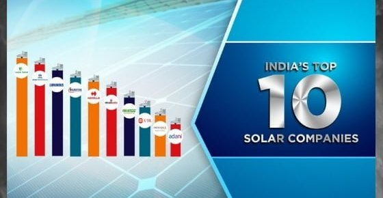 10 Most Popular Solar Panel Brands in India for 2019, Top 10 solar companies in India List, best solar power companies in India