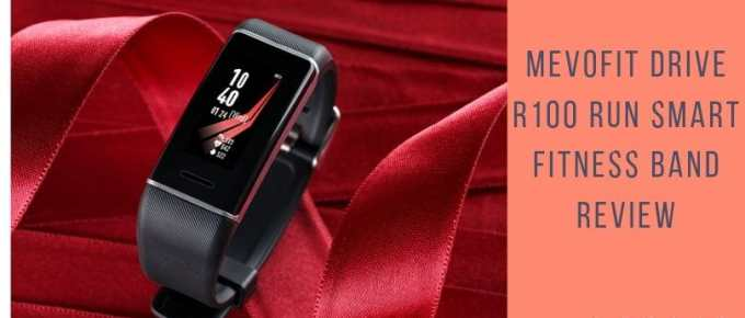 MevoFit Drive R100 Run Smart Fitness band review