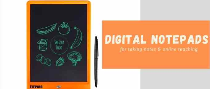 10 Best Digital E-writing Pad for Teachers & Students