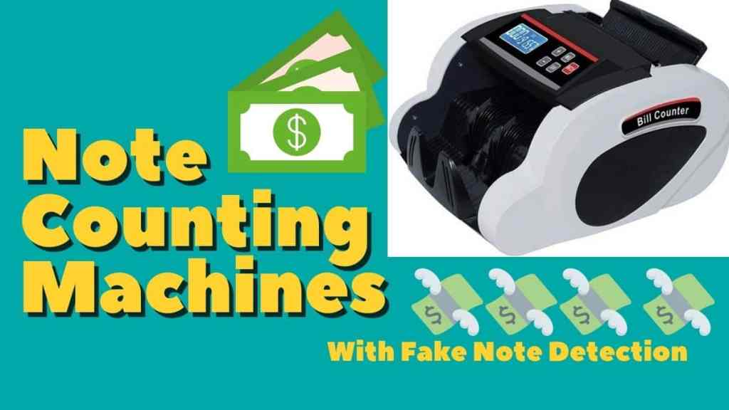 Note Counting Machines with Fake Note Detection in India by Geeky Gadgets
