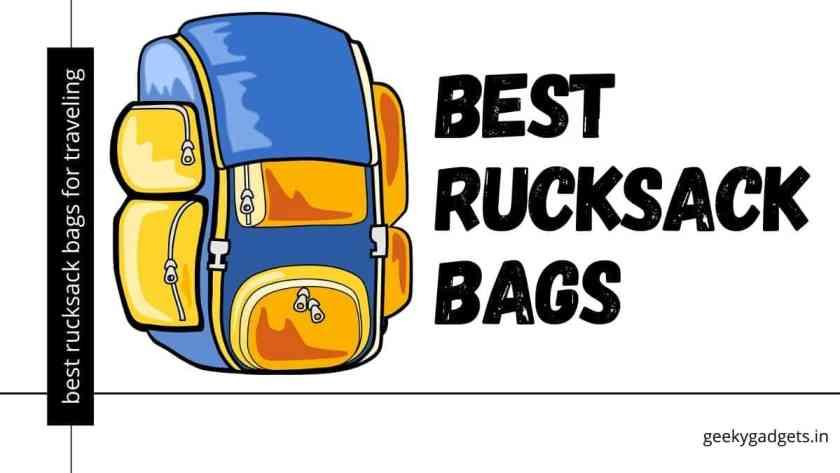 Best Rucksack Bags in India