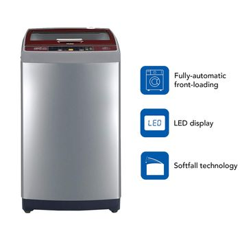 Haier 7.5 kg Fully-Automatic Top Loading Washing Machine