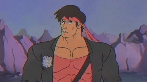 Kung Fury cartoon