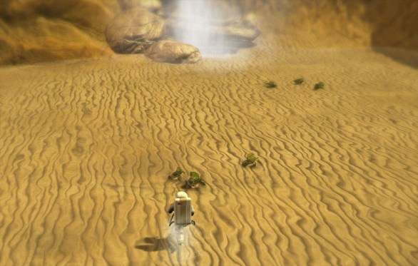 Lifeless Planet - Green goo (Fogs?)