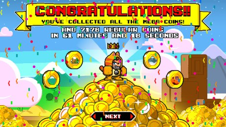 A winner is you - Mega Coin Squad Screenshot