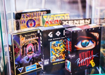 Collections on display at Retro Gathering