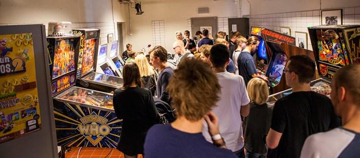 Retrospelsfestivalen 2014 - Pinball and arcades