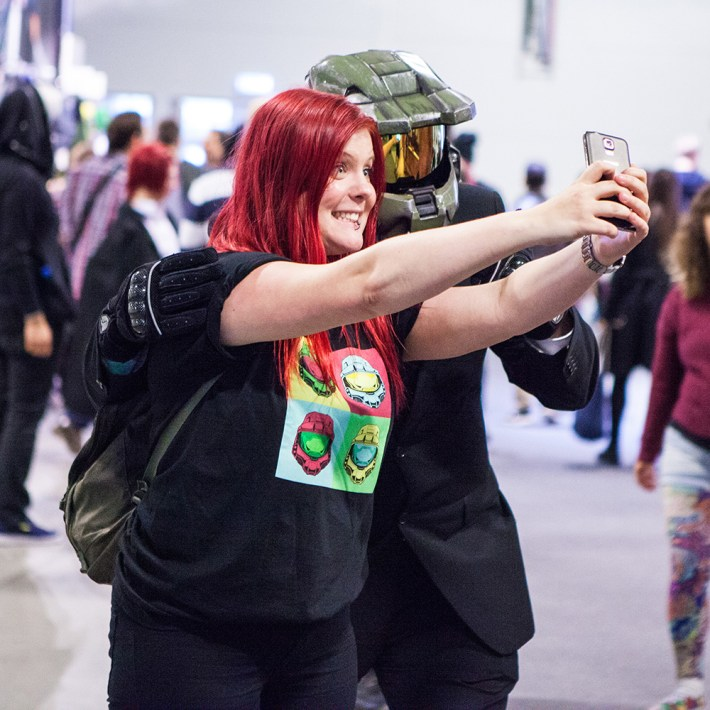 Selfie-time! with Master Chief
