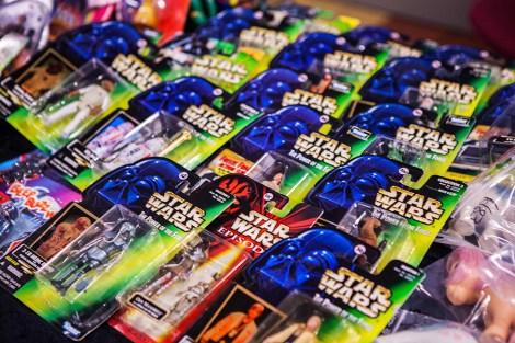 Star Wars toys at Retrospelsfestivalen 2015