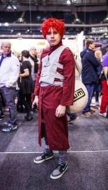 Gaara cosplay - ComicCon Gamex 2015