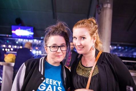 Geeky Gals Jinn & Mona at Gamex ComicCon