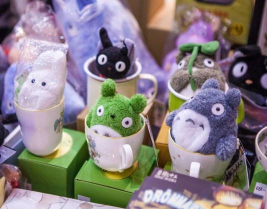 Totoro at Comic Con Gamex 2015