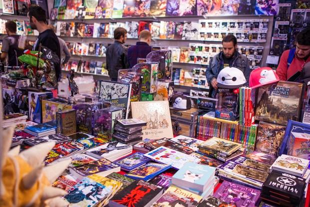 Merch at Comic Con Gamex