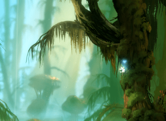 Ori & The Blind Forest - climbing