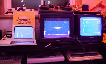 Retro games and vintage computers