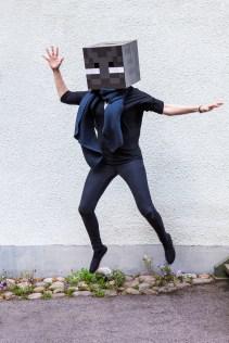 Minecraft Enderman jump