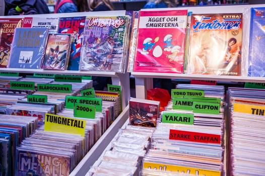 Comics at Sci-Fi World