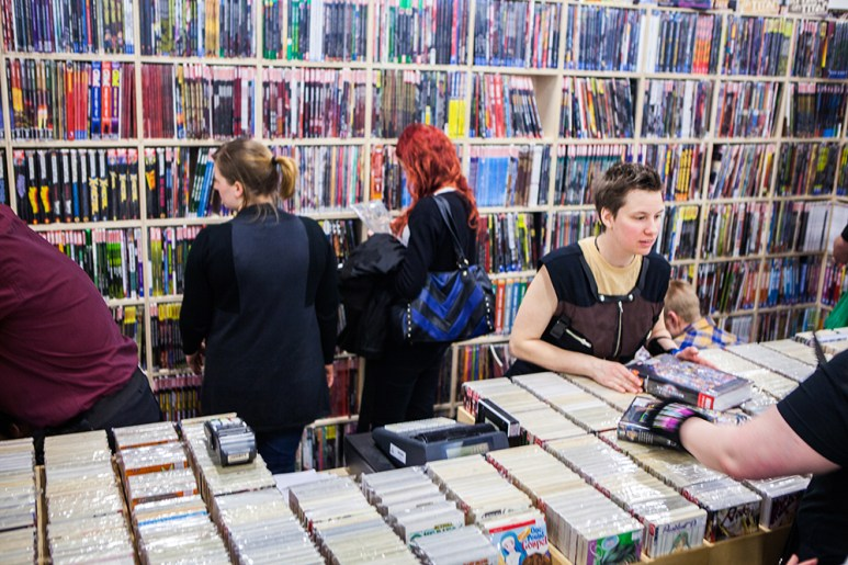 Comics for sale at Sci-Fi World