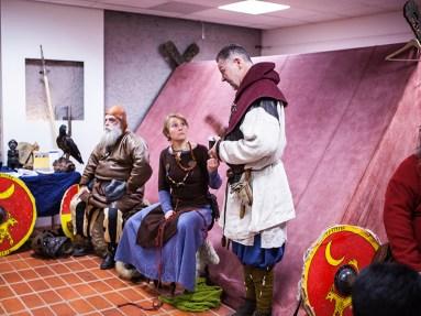 Vikings cosplay at Sci-Fi World