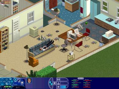 PC game The Sims 1