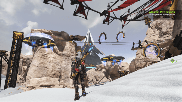 Obstacle course - ReCore