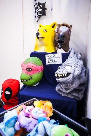 Funny Masks - Sci-Fi World