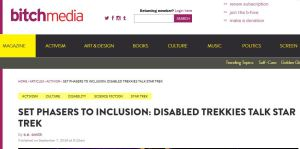 Bitch Media Trek Inclusion headline