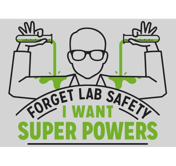 81c194203 Forget Lab Safety Juniors/Ms American Apparel Tee | GeekyGood.com