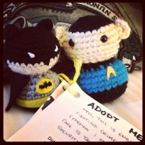 batman & spock