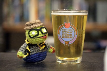 Hipster zombie beer copy