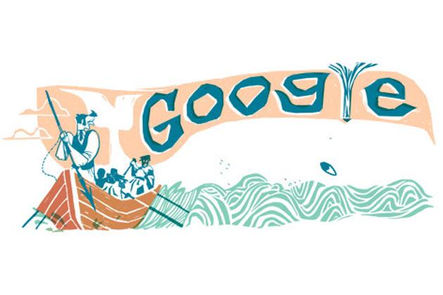 google-herman-melville-mody-dick-doodle-171012