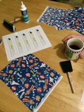 Geeky Bookmark supplies