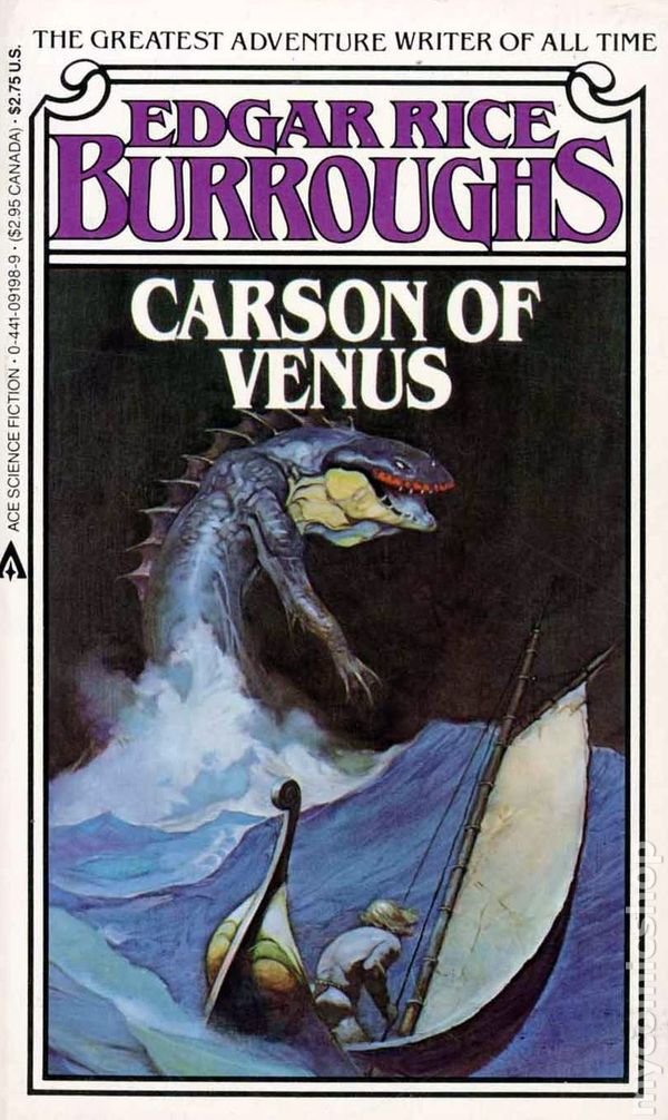 Image result for carson of venus book cover