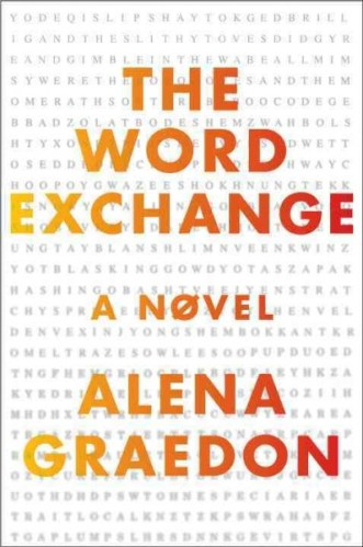 The Word Exchange cover (Alena Graedon)
