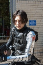 I took a photo of this Bucky cosplayer specifically for our reviewer, Teka, who is obsessed with the character.