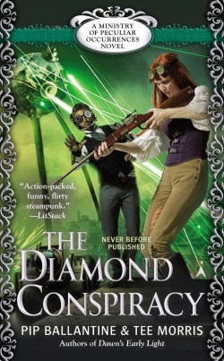 Books and Braun are at it again in the newest book, The Diamond Conspiracy (March 31, Ace) Preorder: Powell's Books, Amazon.