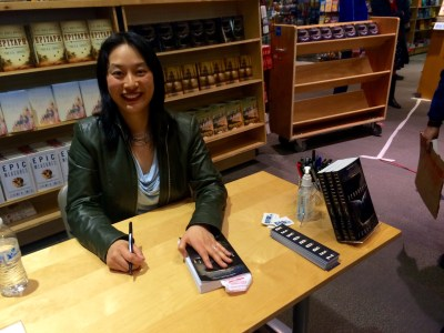 Fonda Lee book signing