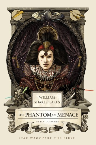 Shakespeare's The Phantom of Menace book cover