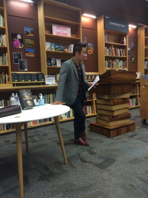 Wesley Chu reading