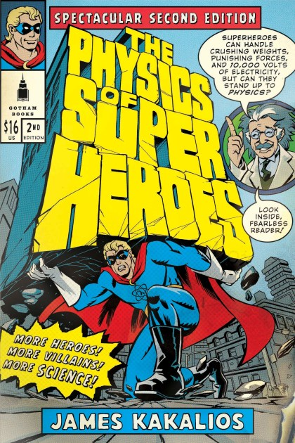 The Physics of Superheroes book cover