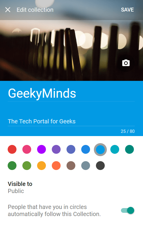 Google+ New Community - GeekyMinds