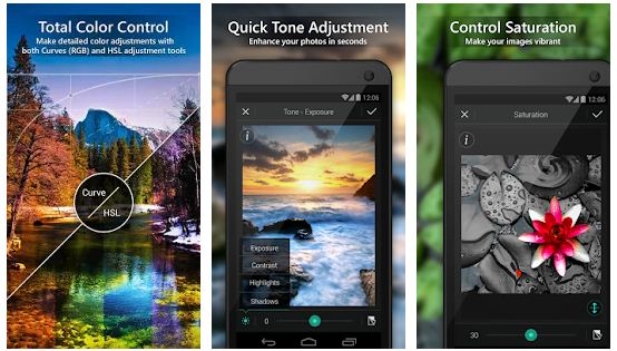 top free photo editor app for android phone