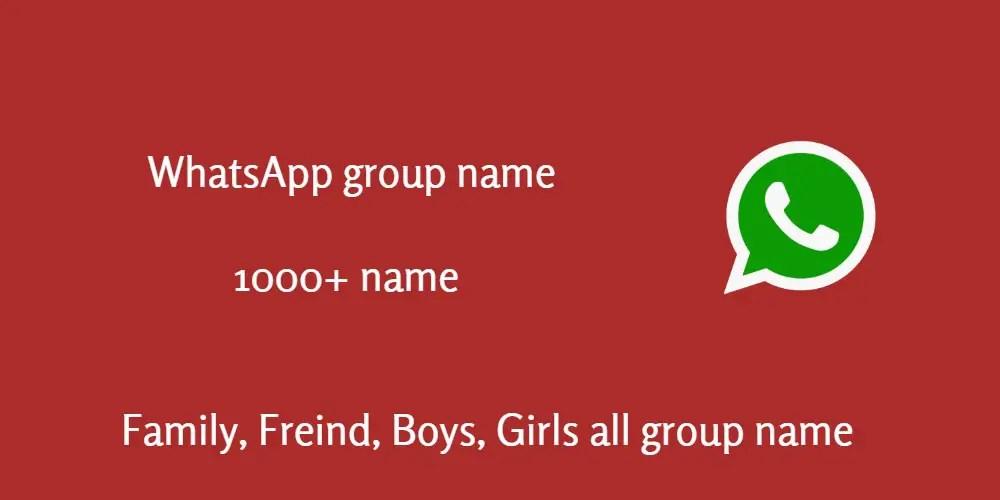 1000+ Best WhatsApp group name 2019 - geekyMR