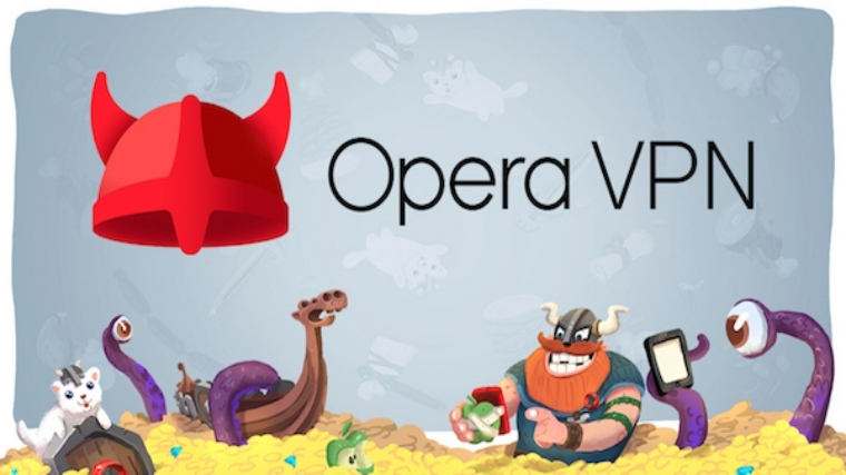 Opera VPN available for free download.