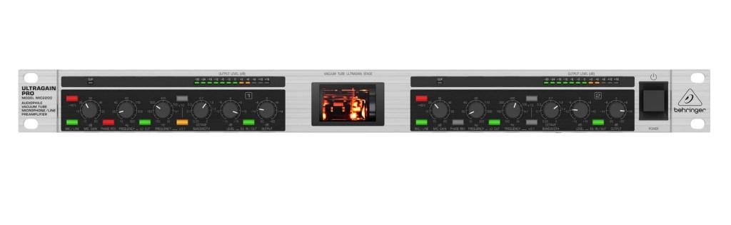 Behringer-MIC-2200 Front Panel
