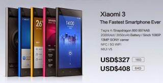 Xiaomi 3 Geek Square